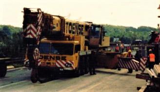 Toense  Demag HC 500/Gottwald AMK 55/Krupp 12 GTT/AK 400/MK 600/K 5003/usw.   ca. 107 Krane