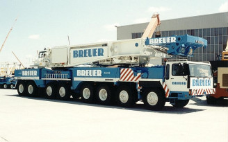 Breuer  Liebherr LTM 1800
