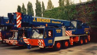 Bender Düsseldorf  Demag HC 130/HC 70/HC 240/HC340